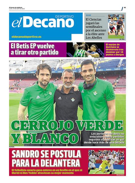Portadas de los Diarios Deportivos Sevillanos