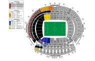 Finaliza el primer período de venta para la Final de Copa con un sobrante de 4.050 entradas