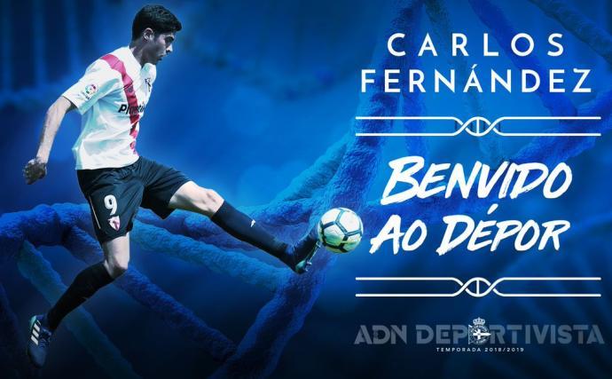 El Dépor se guarda una opción preferente por Carlos Fernández