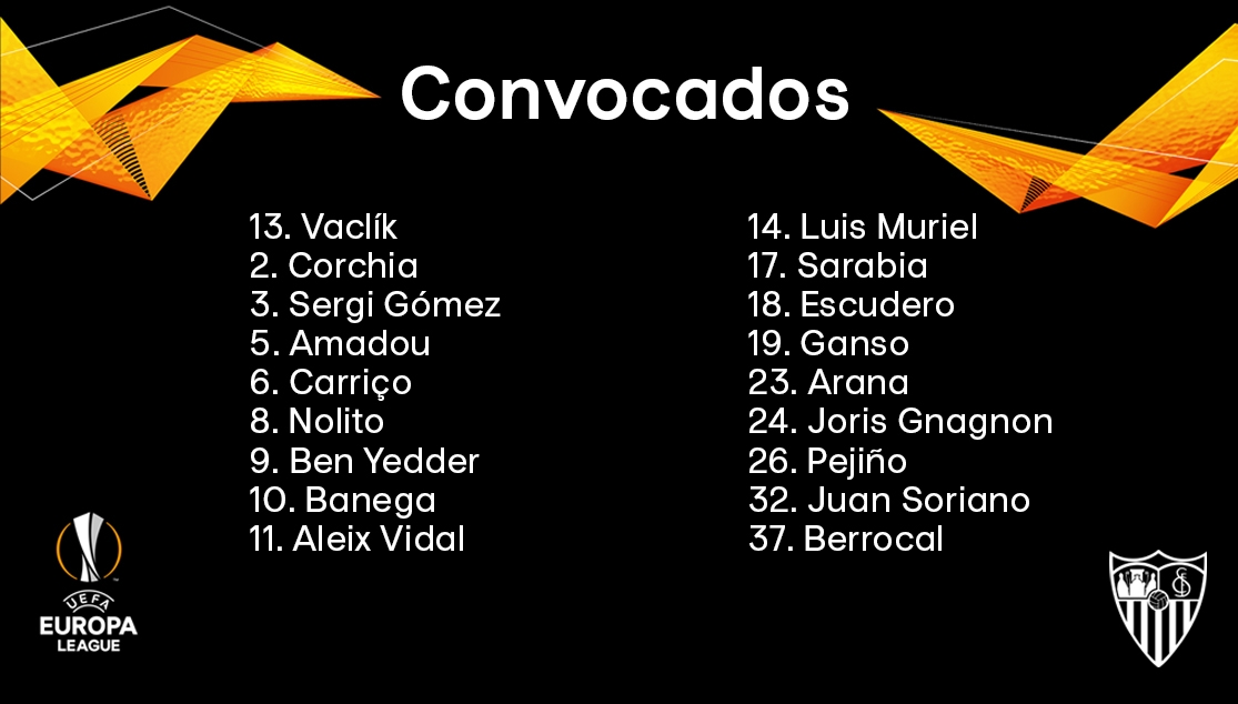 Aleix Vidal y cinco novedades más en la lista para esta noche