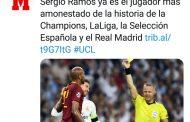Foto: El dudoso honor de Sergio Ramos...
