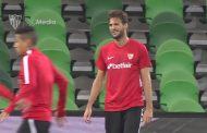 Vídeo: El Sevilla FC se ejercitó en el imponente Krasnodar Stadium