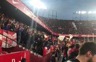 Vídeo: El final del partido desde la grada de Gol Norte, vía @SFCPENTACAMPEON