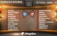Todos los disponibles, incluido Aleix Vidal, viajan a Vitoria
