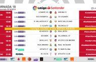 Horario Jornada 18: El Atlético visitará Nervión en la tarde de Reyes