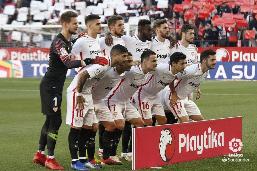Los nueve futbolistas del Sevilla FC que repiten