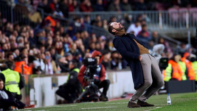 Los siete pecados capitales de Machín en el Camp Nou