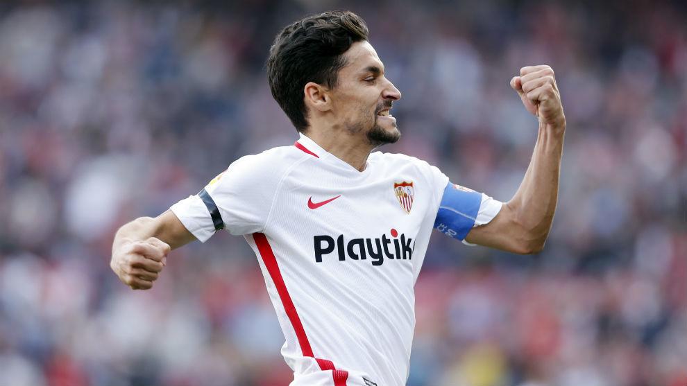Un jugador del Sevilla entre los seis de campo que han completado todos los minutos de LaLiga