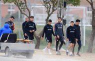 Novedades en el entrenamiento del Sevilla FC