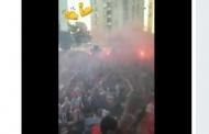 Vídeo: Así grabó André Silva la salida del equipo desde el autobús