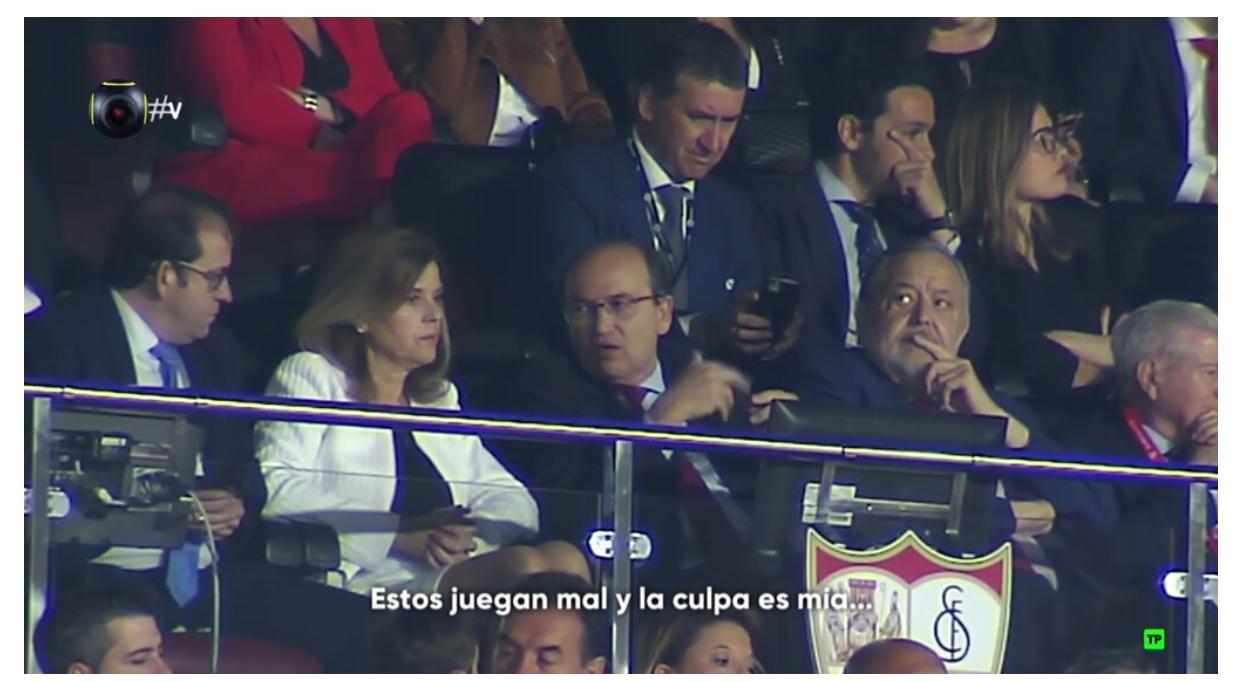 Las cámaras de Vamos pillan a Pepe Castro: 'Estos juegan mal y la culpa es mía'