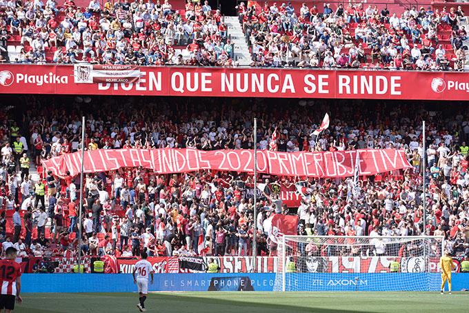 Foto: Biris Norte contra Sevillistas Unidos 2020 y la posible venta del club