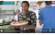 Vídeo: ¡CAMARERO DE UNA PIZZERIA! Así es la nueva vida de Darío Silva