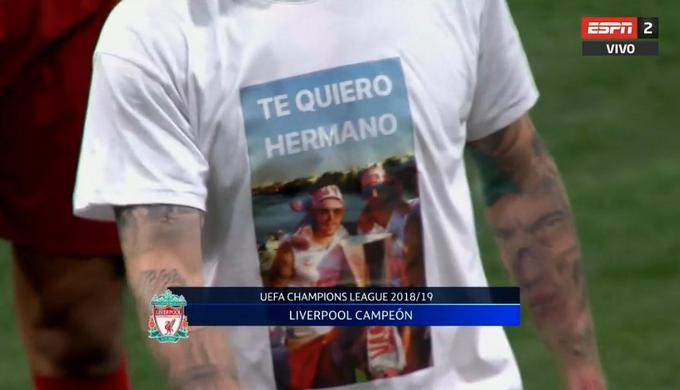 El recuerdo y las lágrimas de Alberto Moreno por Reyes en la Final de la Champions