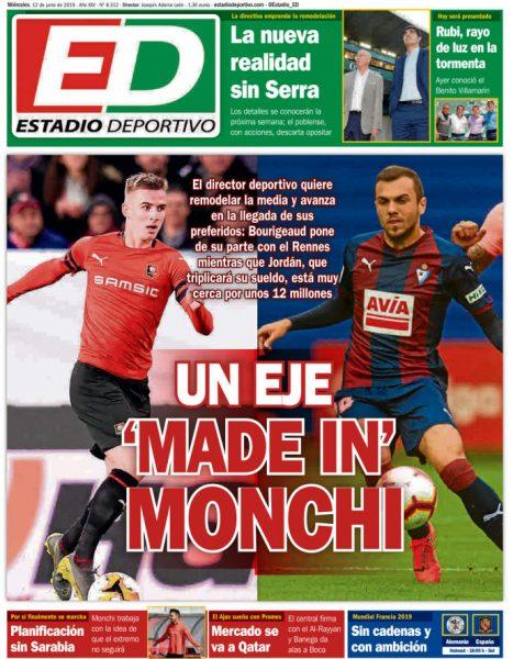 Portada ED - Un eje 'made in' Monchi