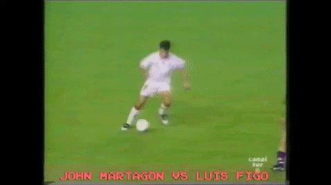 Vídeo: 'Cachita' de Juan Martagón a Luis Figo... vía @mawolosor