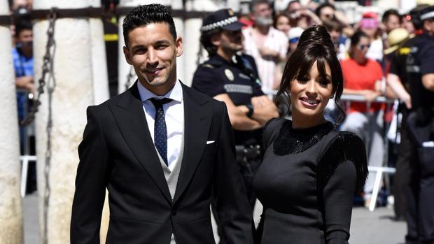 Fotos: La representación sevillista en la boda de Sergio Ramos