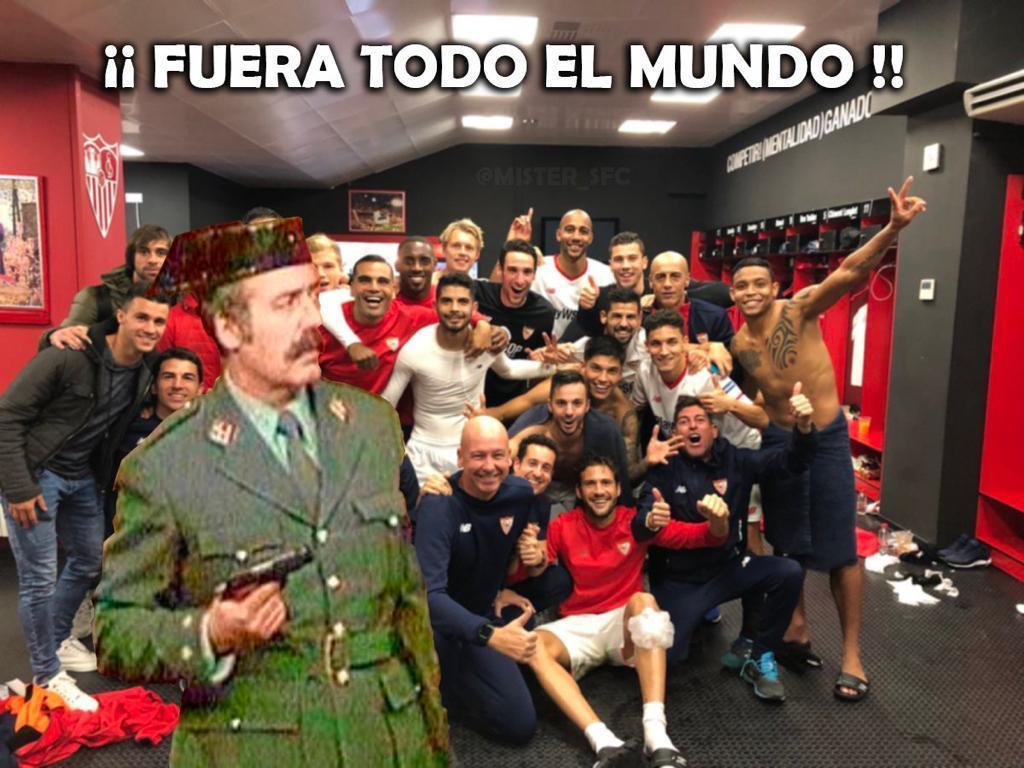 Foto-Meme: La revolución que plantea Monchi en la plantilla del Sevilla FC