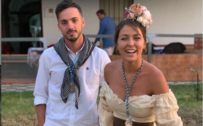 Fotos: Sarabia disfruta de nuestras tradiciones y se deja ver en el Rocío