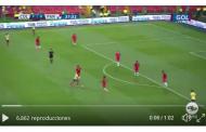 Vídeo: Muriel se pone en el escaparate y marca con Colombia