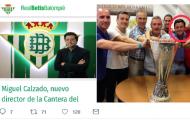 Foto: El nuevo director de la cantera del Betis ya ha tocado plata, vía @scota1