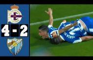 Vídeo: Resumen Deportivo 4-2 Málaga (Dos goles de Carlos Fernández)