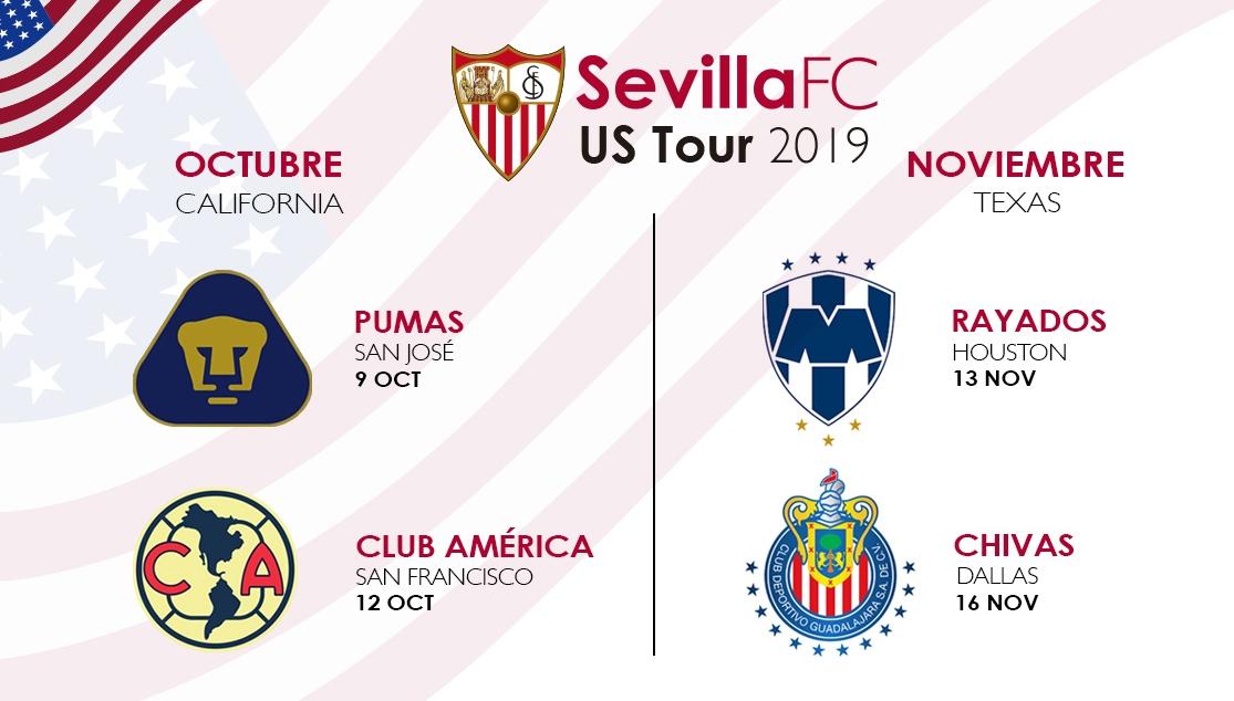 La segunda gira del Sevilla por Estados Unidos, también cancelada
