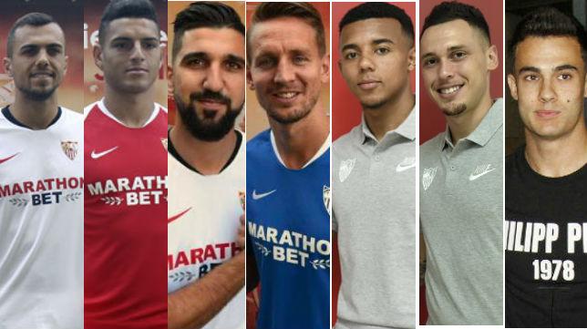 Los primeros detalles que resaltan de los nuevos fichajes del Sevilla FC