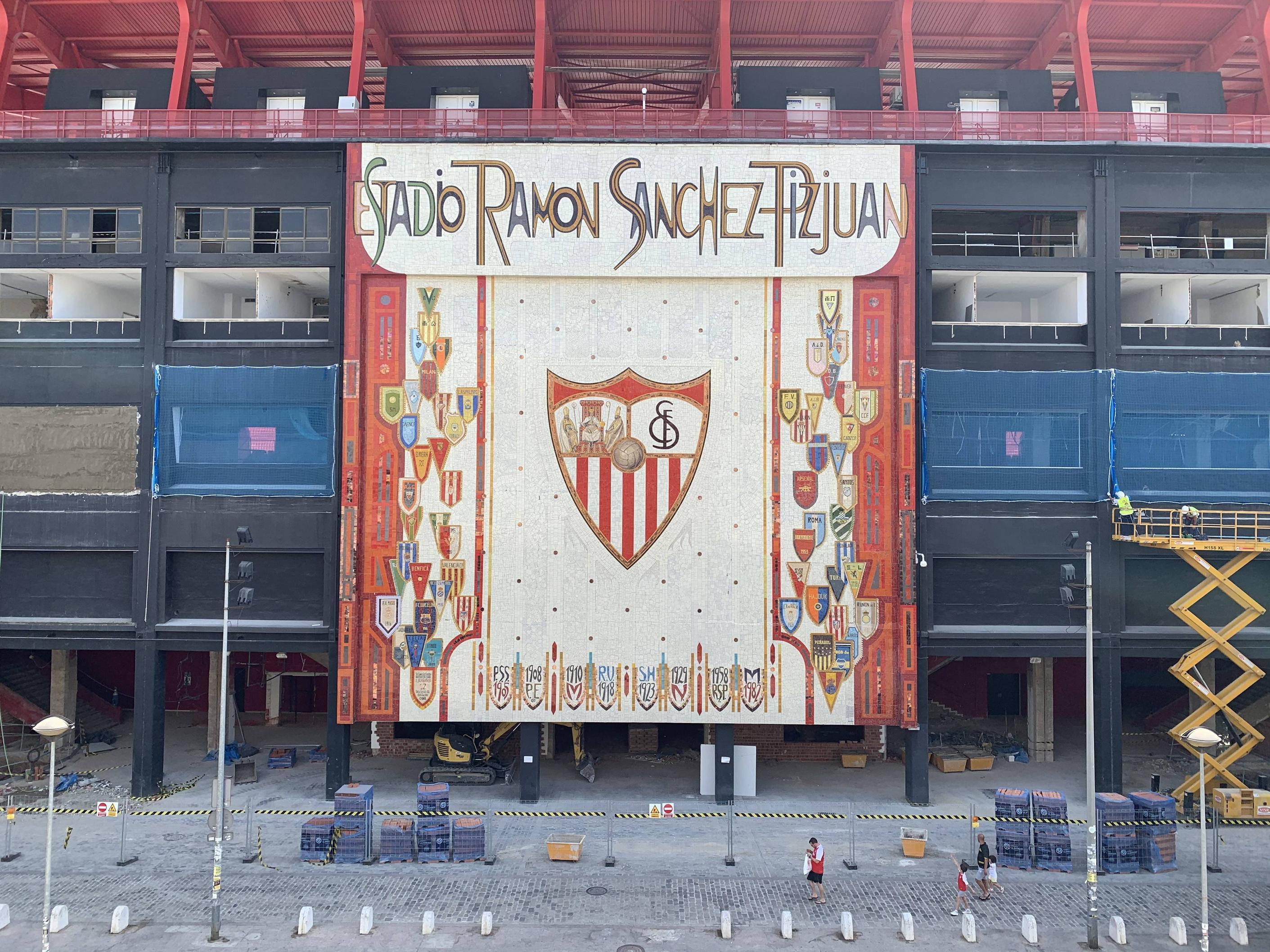 Fotos: Así van las obras de Preferencia en el Estadio Ramón Sánchez-Pizjuán, visto en ForoSevillaGrande