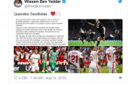 """La carta de despedida de Ben Yedder: """"Es el momento de irme del Sevilla, un club único"""""""
