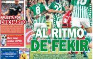 Portada ED - Apuesta por Chicharito y Sergio Rico rumbo al PSG