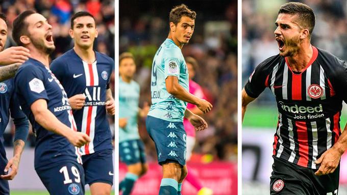 Mientras tanto, Ben Yedder, André Silva y Sarabia marcando goles