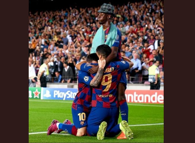 Foto: La imagen viral de la celebración del Barça con el toque de @____tuan