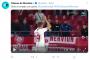 Foto: La celebración de De Jong tras su gol al Levante