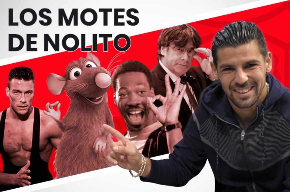 Los motes de Nolito a la plantilla del Sevilla