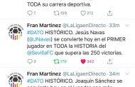 Foto: Los impresionantes datos que deja el último derbi para Joaquín y Navas