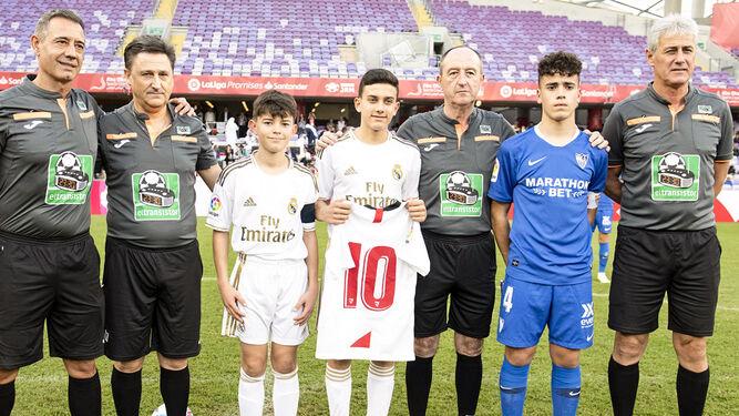 El hijo de Reyes da un paso importante en su carrera como futbolista