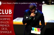 Vídeo: Curro Reyes y Rakitic no pudieron evitar las lágrimas en memoria de Reyes
