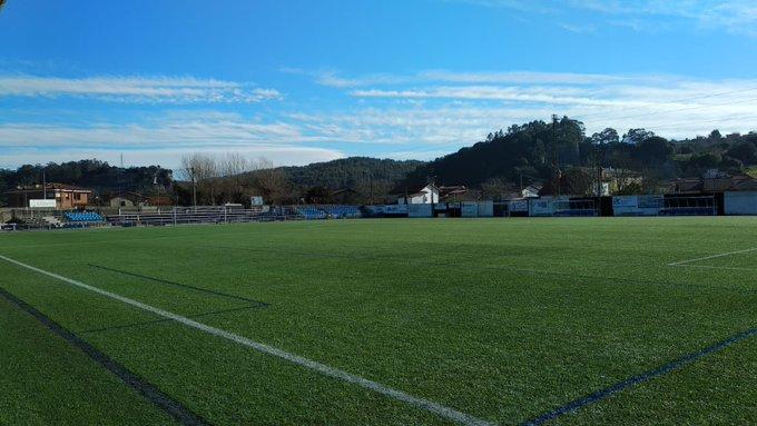 Fotos: Así han reducido las dimensiones del campo del Escobedo, vía @PS_APuerta