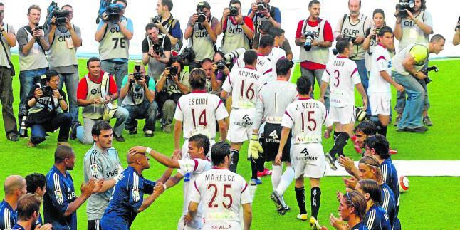 El Sevilla hará el pasillo al Real Madrid