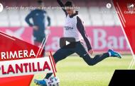 Vídeo: Sesión de golazos en el entrenamiento del Sevilla FC