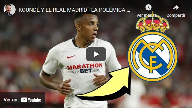 El Madrid reactiva la opción de Koundé