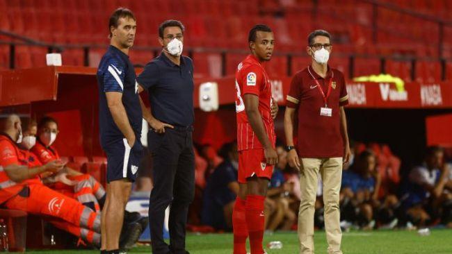 Koundé volvió a ponerse la camiseta del Sevilla, con anécdota incluida