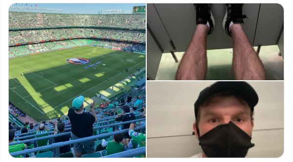 Un aficionado del Celtic cuenta cómo se coló en el Villamarín