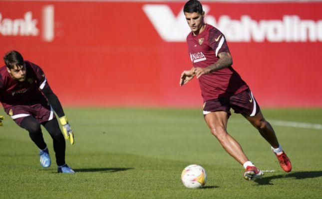 Buenas noticias en el entrenamiento del Sevilla